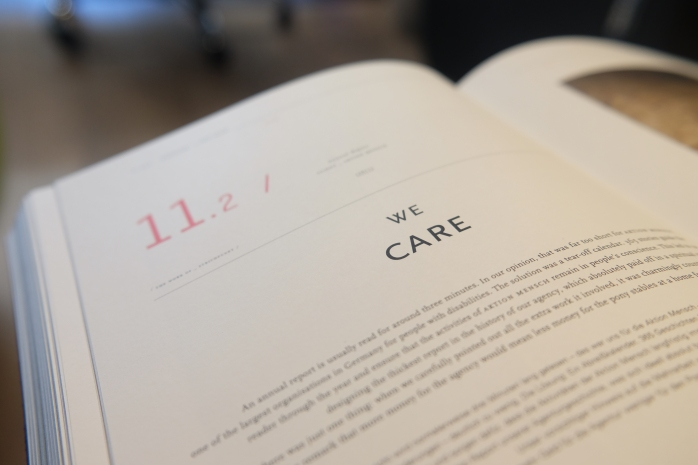 we care book background